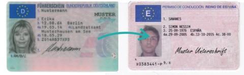 Spanischer Führerschein-Umtausch oder Erneuerung