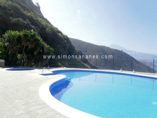 Renoviertes Apartment mit Pool und unverbautem Blick in Puntillo del Sol