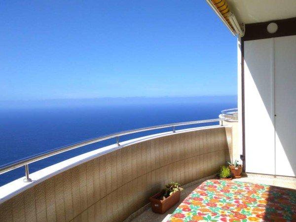 1-Schlafzimmer Ferien-Apartment mit Meerblick