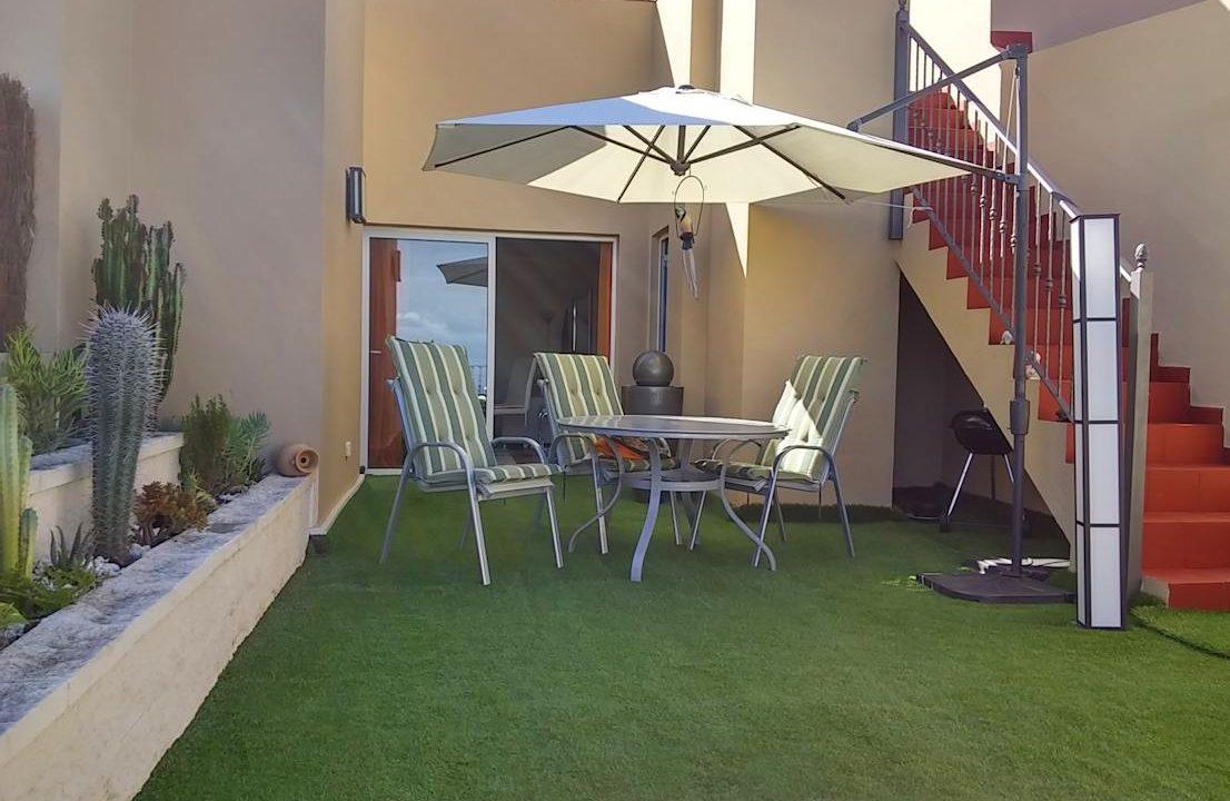 verkauft! elegante penthouse-wohnung mit dachterrasse in la quinta, Wohnzimmer dekoo