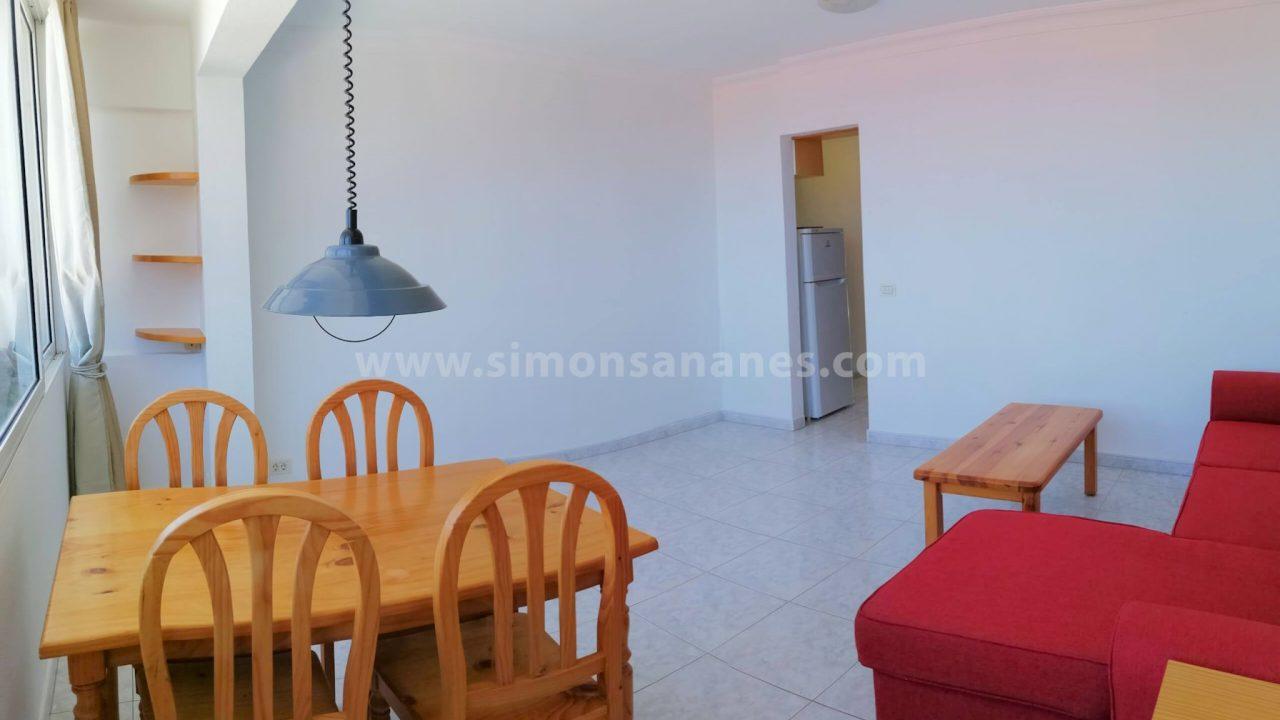 1SZ Wohnung El Toscal_Wohnzimmer