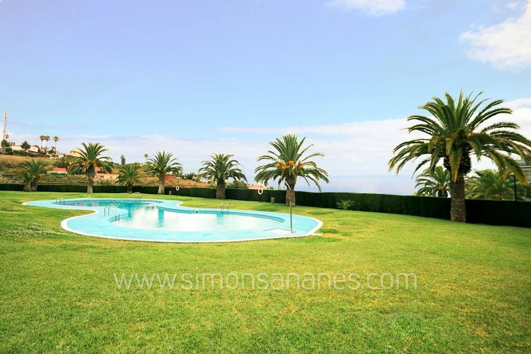 1SZ Wohnung La Quinta Meerblick. Pool
