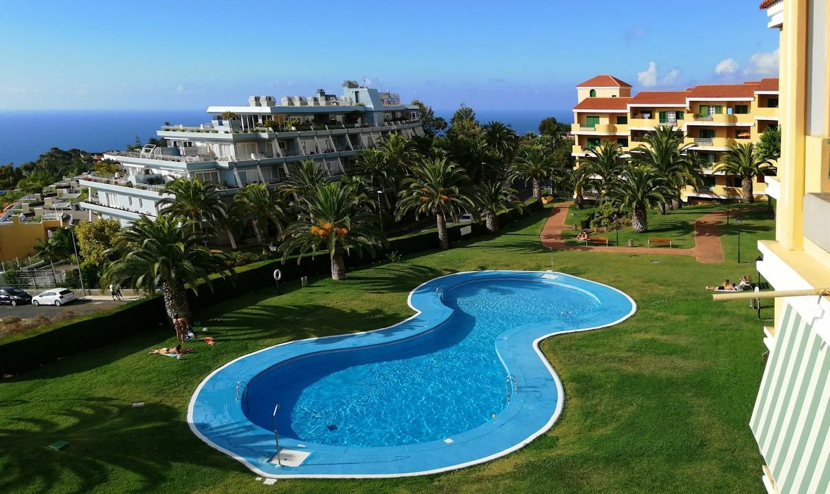 1SZ Wohnung La Quinta_ Garten + Pool