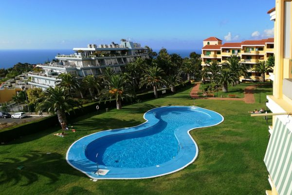 1-SZ Apartment mit fantastischem Ausblick und Pool in La Quinta