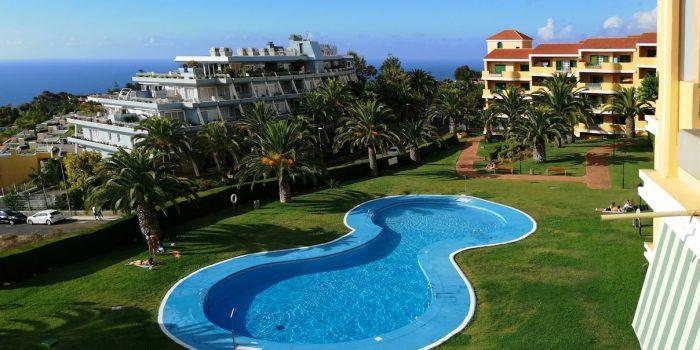 VERKAUFT! 1-SZ Apartment mit fantastischem Ausblick und Pool in La Quinta