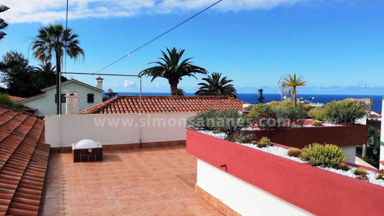 Antiq-Stil Haus Puerto Cruz. Dachterrasse