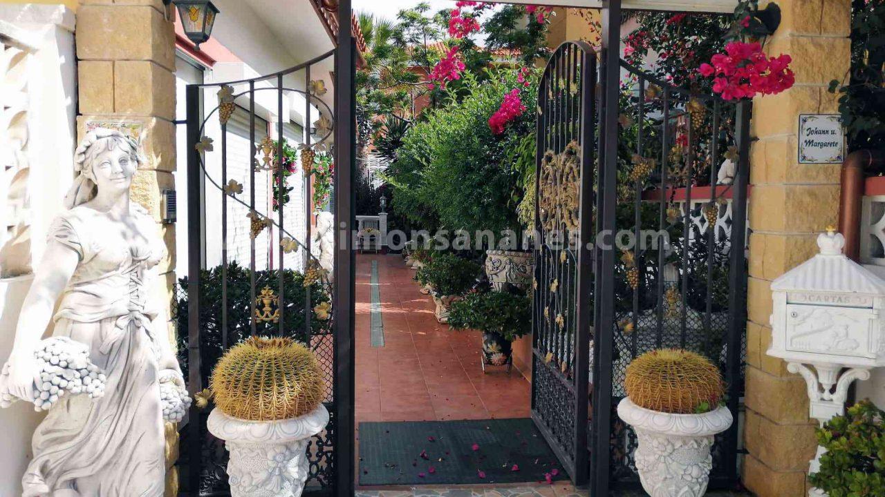 Antiq-Stil Haus Puerto Cruz. Eingangsbereich