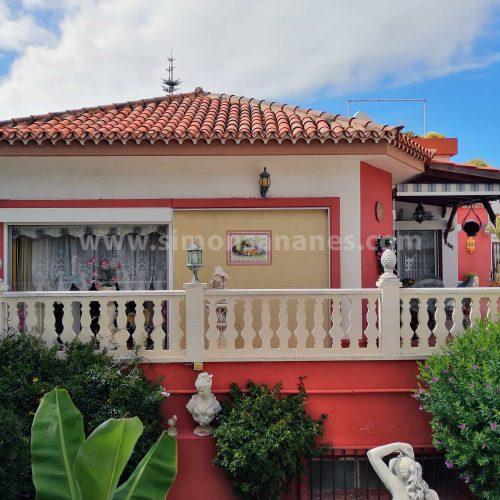 Haus im antik Stil mit schönem Garten in super Lage Puerto de la Cruz