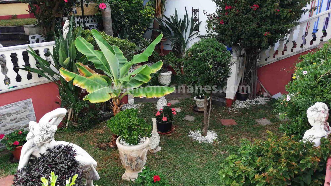 Antiq-Stil Haus Puerto Cruz. Garten
