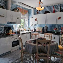 Antiq-Stil Haus Puerto Cruz. Küche