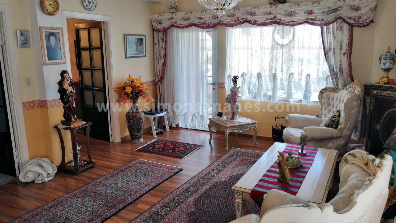 Antiq-Stil Haus Puerto Cruz. Wohnzimmer