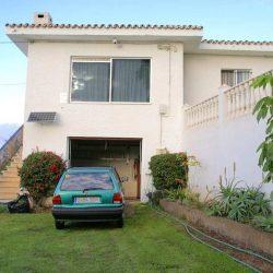 Fassade - Haus El Sauzal mit Garten