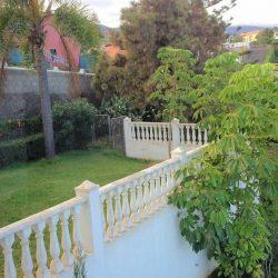 Terasse - Sicht aus Wohnzimmer. Haus El Sauzal