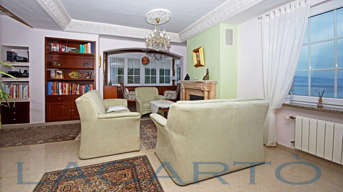 Wohnzimmer mit Blick auf das Meer. Chalet in El Pris, Tacoronte mit Meer- und Teideblick
