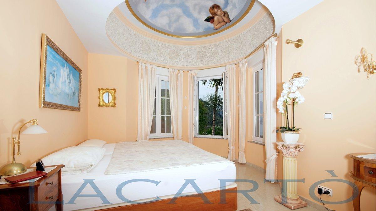 Schlafzimmer Blick. Chalet in El Pris, Tacoronte mit Meer- und Teideblick