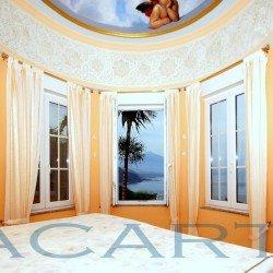 Schlafzimmer. Chalet in El Pris, Tacoronte mit Meer- und Teideblick