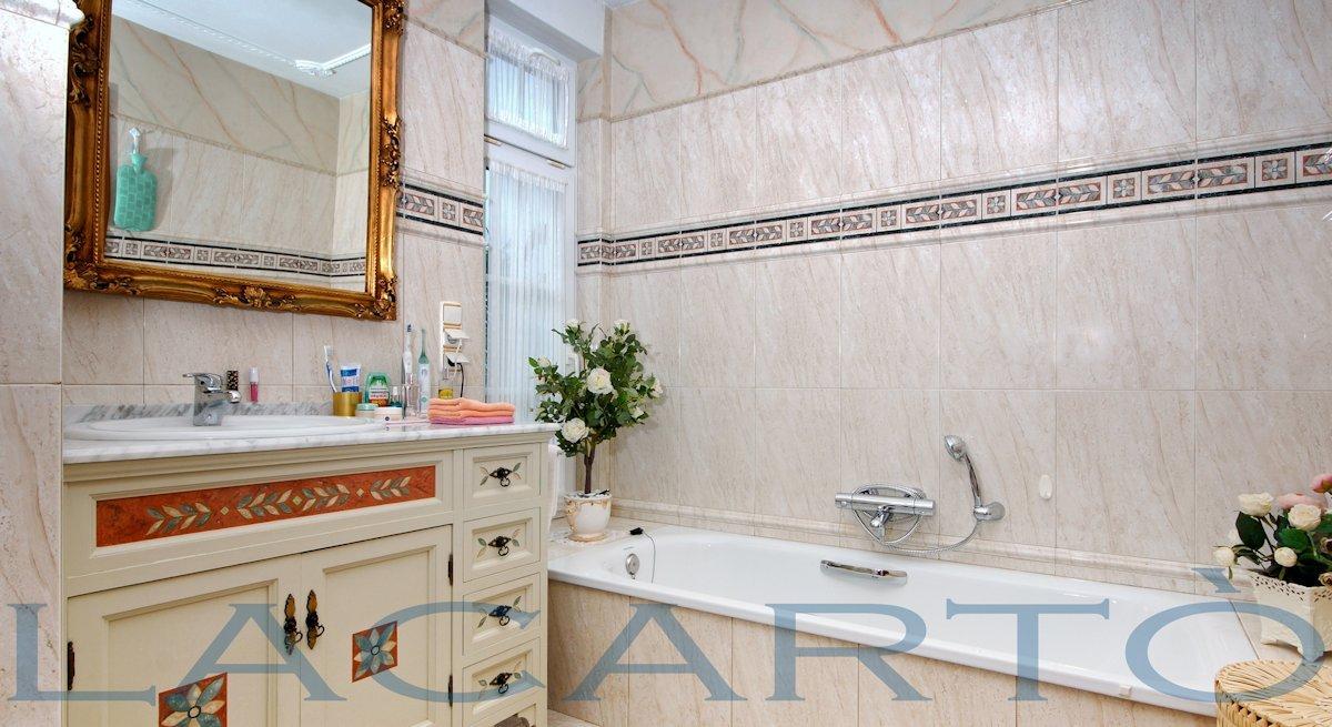 Haupt-Badezimmer. Chalet in El Pris, Tacoronte mit Meer- und Teideblick
