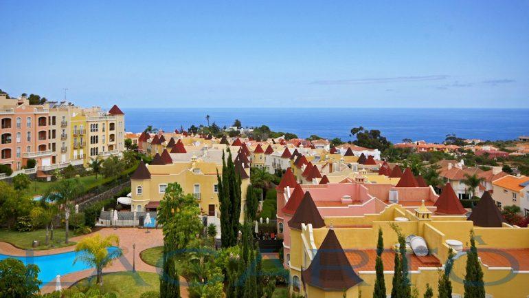Blick aus der Penthousewohnung in La Quinta Santa Ursula zu verkaufen