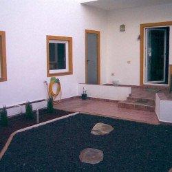 Jardin con riego autom. Casa nueva Granadilla en venta