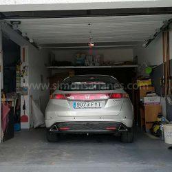 Garage mit Nebenraum. Chalet Jardin del Sol