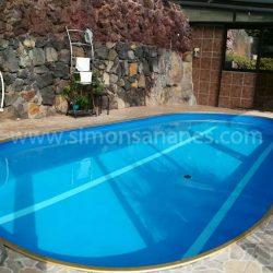 Geheizter Pool. Chalet Jardin del Sol