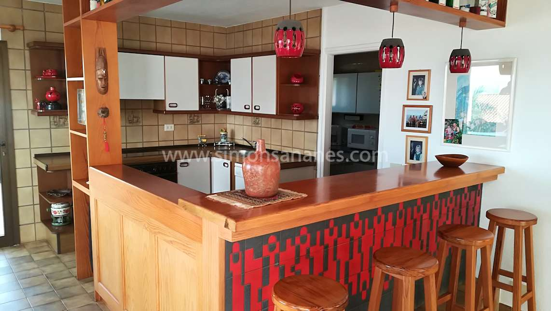 Offene Küche. Chalet Jardin del Sol