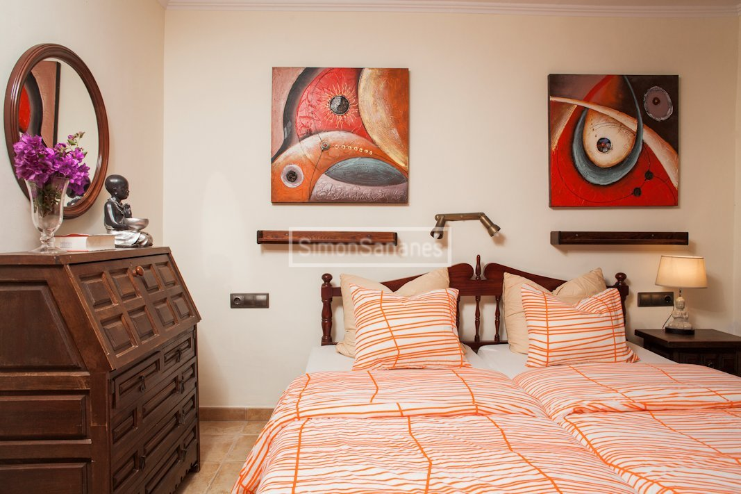 Schlafzimmer. Apartment La Palmita