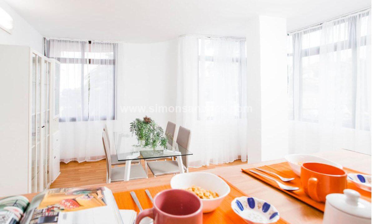 2-Schlafzimmer-Wohnung-Puerto-de-la-Cruz.-Essbereich