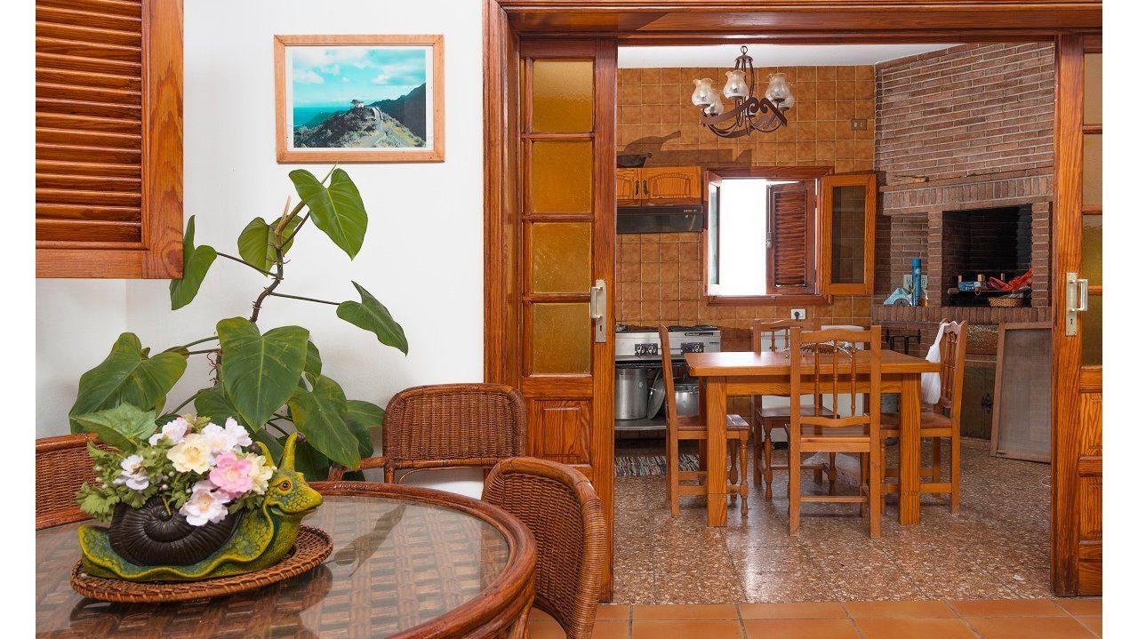 Patio und Küche
