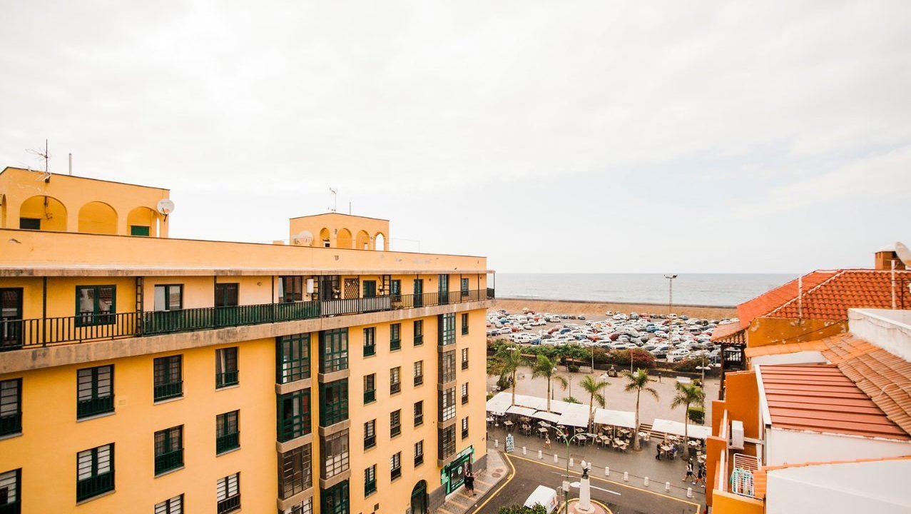 Penthouse Plaza Charco Tenerifa. Blick Atlantik
