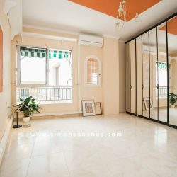 Penthouse Plaza Charco Tenerifa. Schlafzimmer