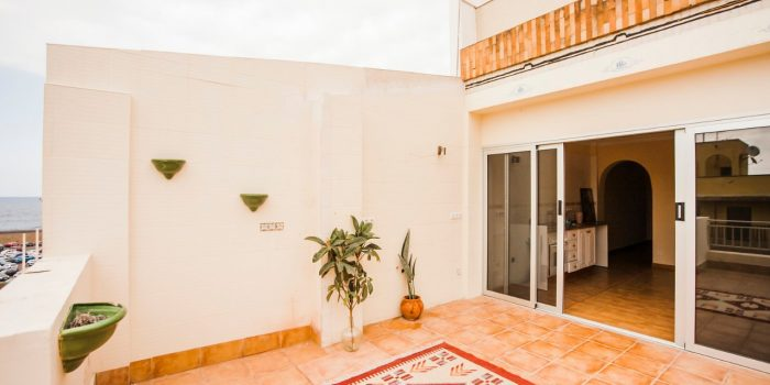2SZ Penthouse-Wohnung in Plaza Charco mit Teide Blick