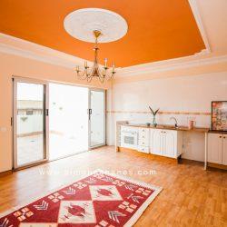 Penthouse Plaza Charco Tenerifa. Wohnzimmer-Küche