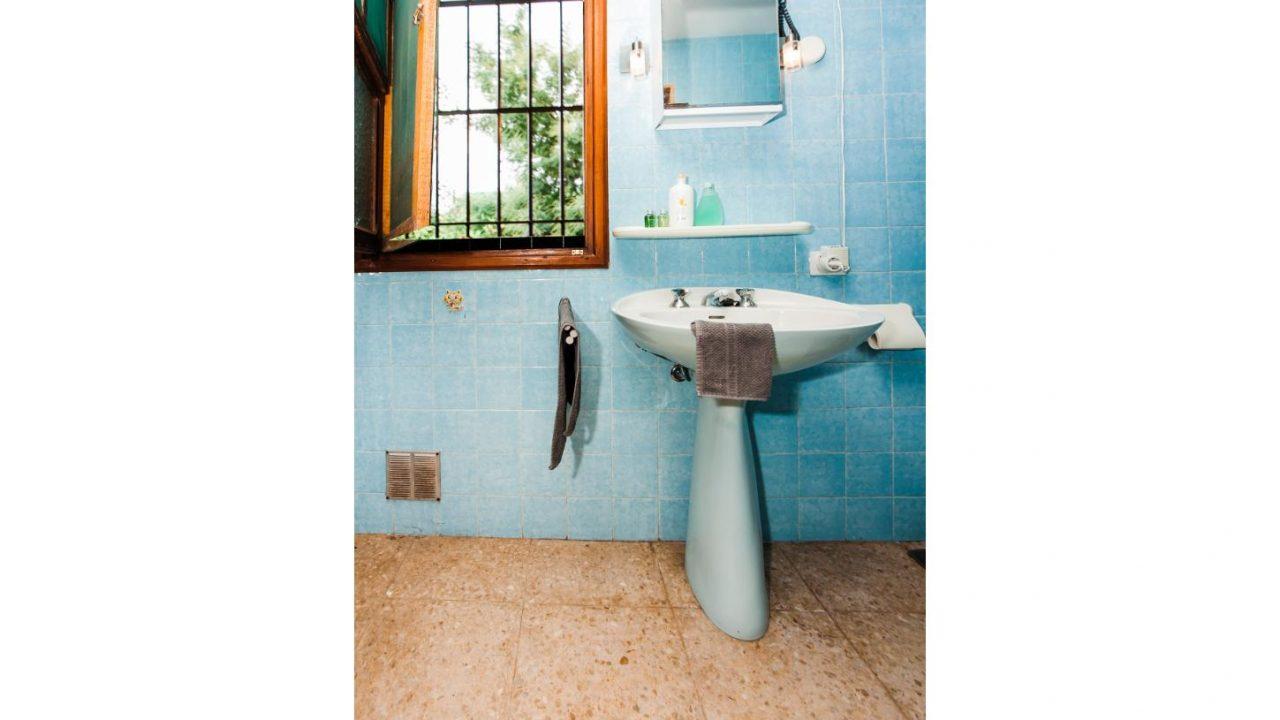 Badezimmer Studio. Haus El Sauzal mit Blick Teide + Atlantilk