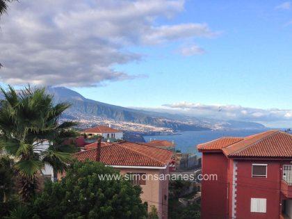 (Verkauft) 3SZ Einfamilienhaus mit Blick auf den Atlantik und Teide in El Sauzal