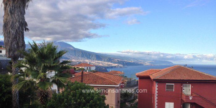 3SZ Einfamilienhaus mit Blick auf den Atlantik und Teide in El Sauzal