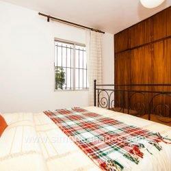 Haupt-Schlafzimmer Blick u. ESchrank. Haus El Sauzal mit Blick Teide + Atlantilk
