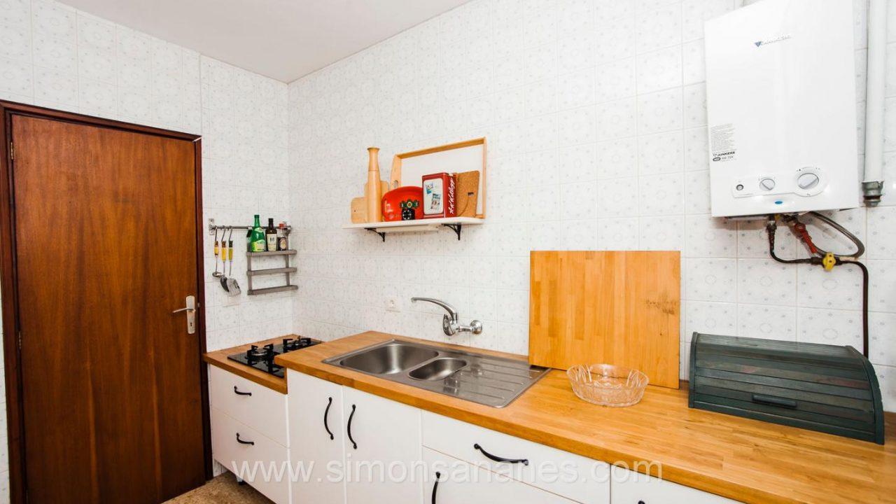 Kücke. Haus El Sauzal mit Blick Teide + Atlantilk