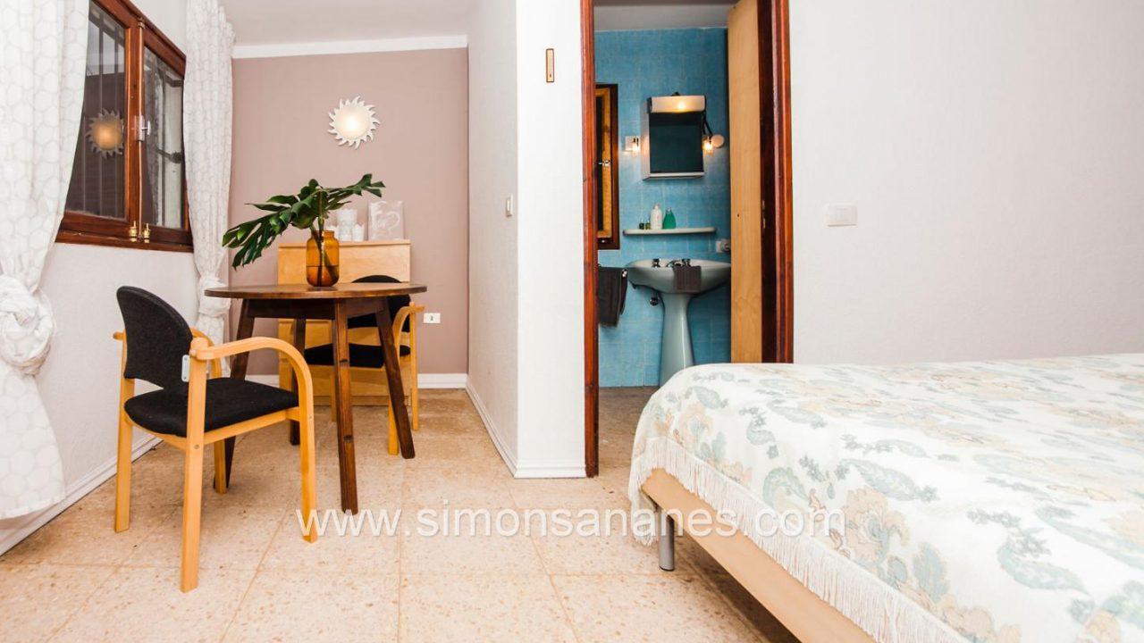 Studioapartment Wohnecke u Bad. Haus El Sauzal mit Blick Teide + Atlantilk