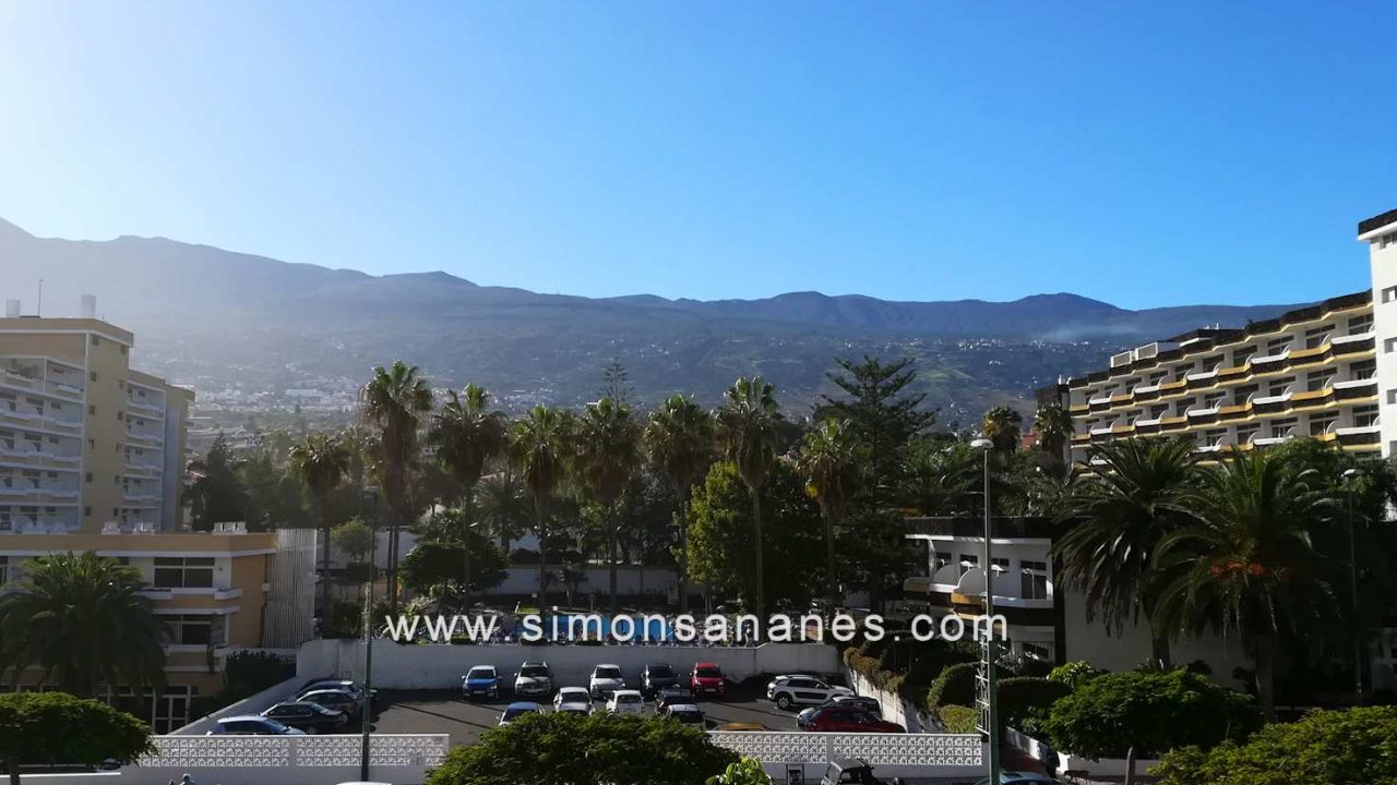 Blick aus Terrasse. Studio Apartment La Paz Interpalace