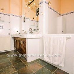 Luxus Villa La Orotava. Bad ein suite Musik