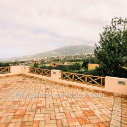 Luxus Villa La Orotava. Blick Terrasse OG