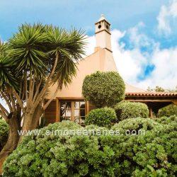 Luxus Villa La Orotava. Fassade westlich