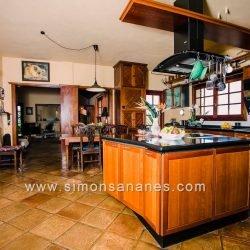 Luxus Villa La Orotava. Küche