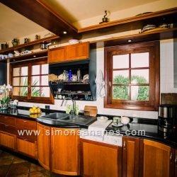 Luxus Villa La Orotava. Küche Blick