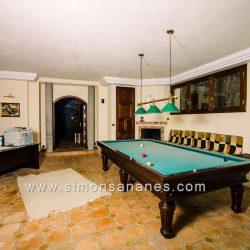 Luxus Villa La Orotava. Keller mit Billiard