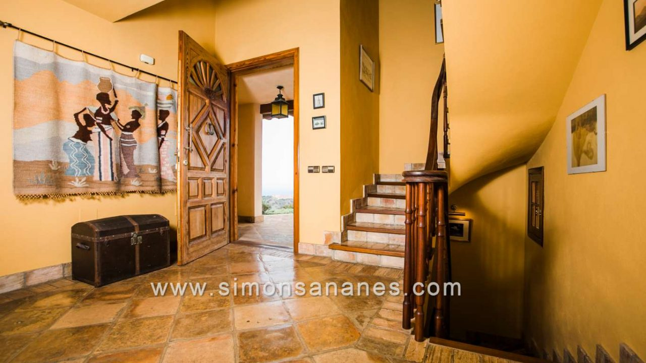 Luxus Villa La Orotava. Vestibül Eingang