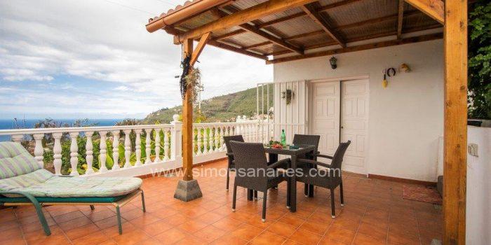 4.000 qm große Ruheoase mit Haus in La Orotava mit Panoramablick