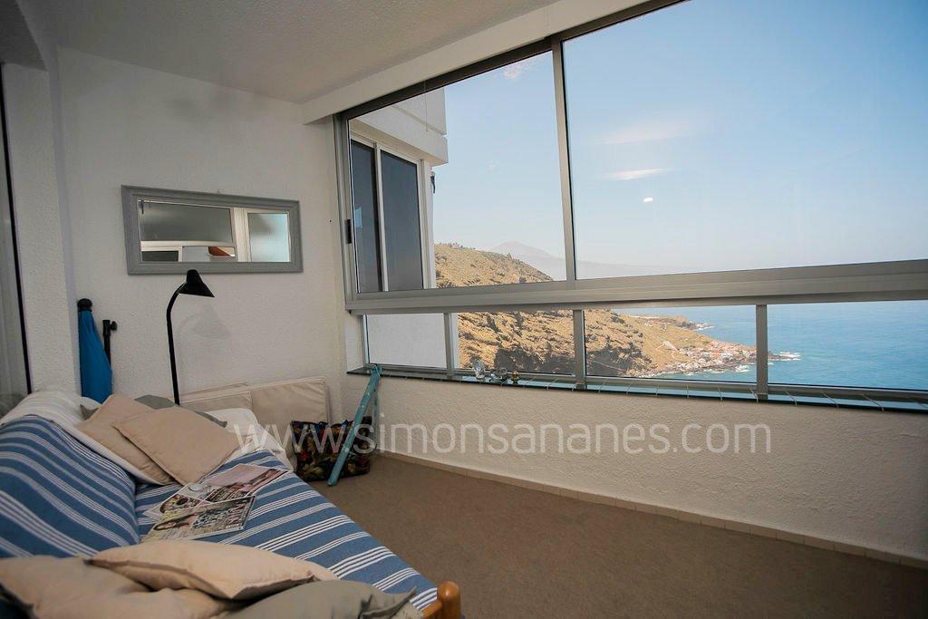 Apartment Meerblick aus Terrasse