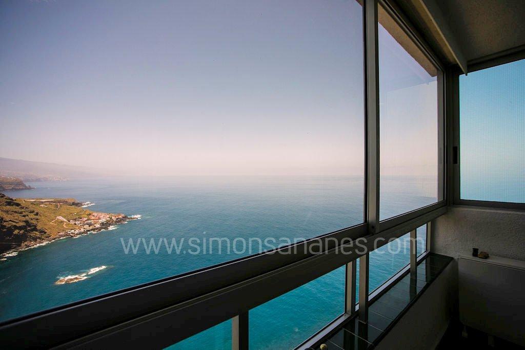 Apartment Meerblick. Blick aus Terrasse
